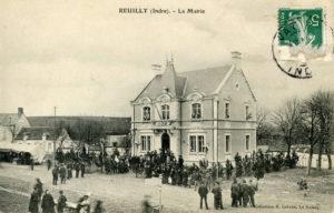 Carte postale Mairie 1910