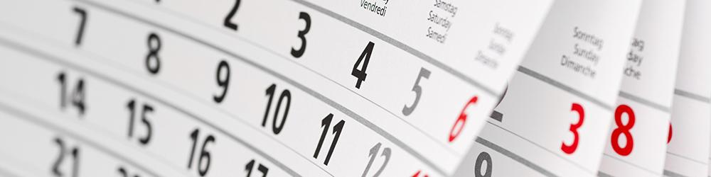 Couverture page Les évènements de l'année