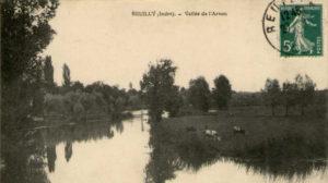 Carte postale Prairies de l'Arnon