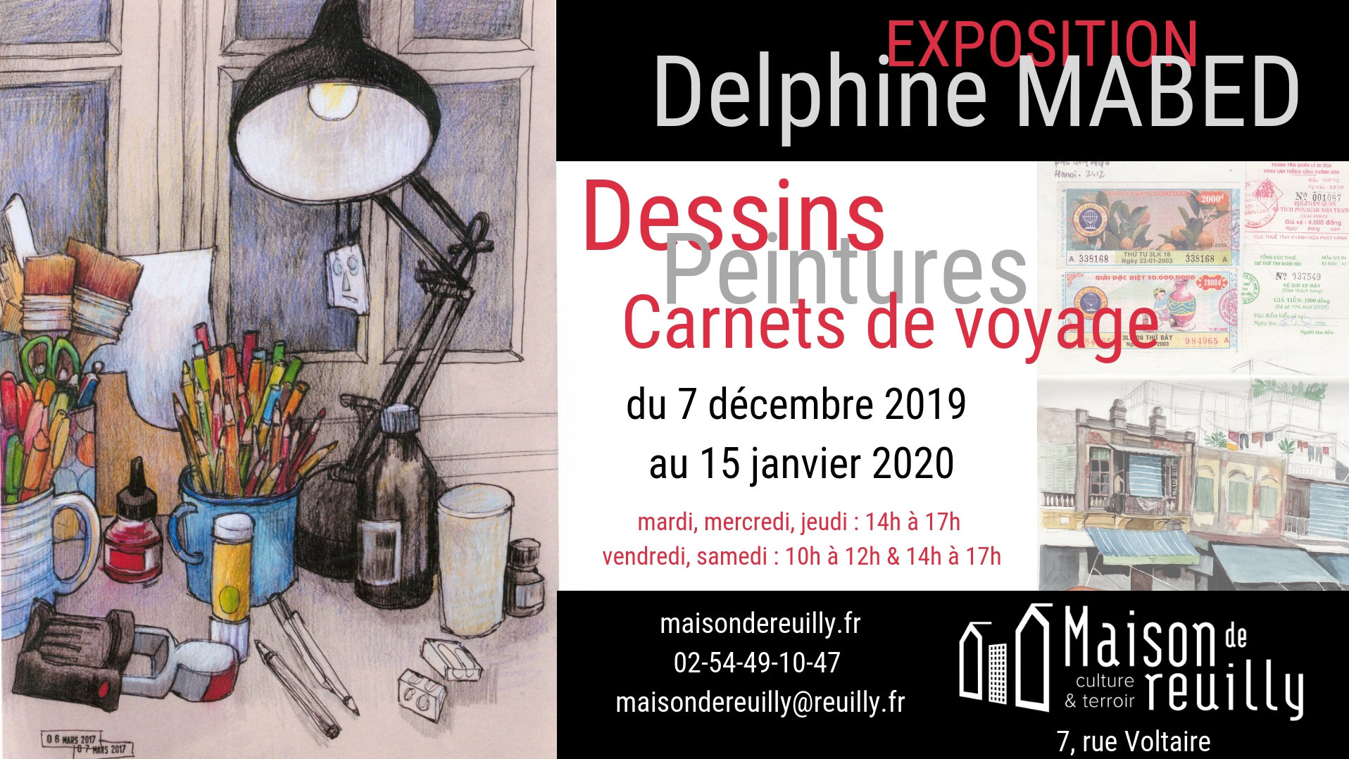 Affiche Mabed Delphine décembre 2019 reuilly