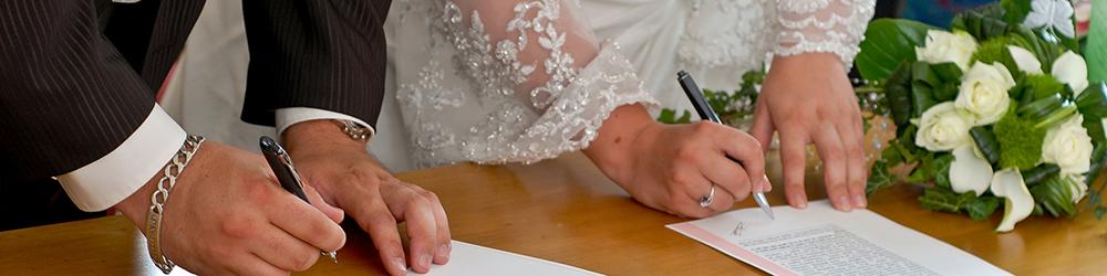 Couverture page Mariage, PACS et Divorce