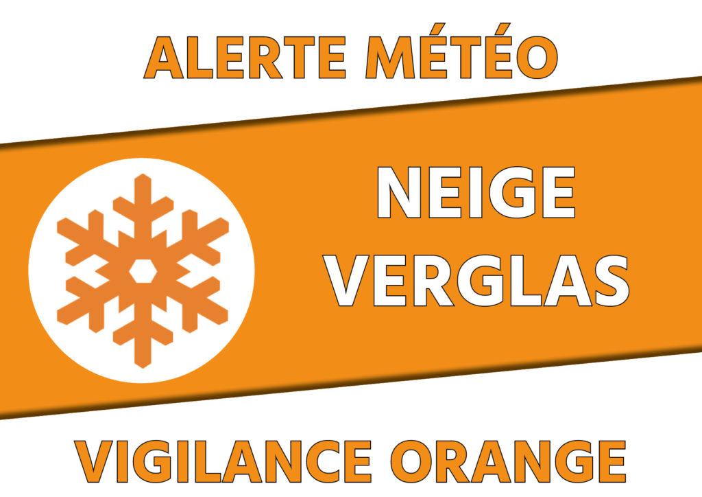 Alerte vigilance orange neige