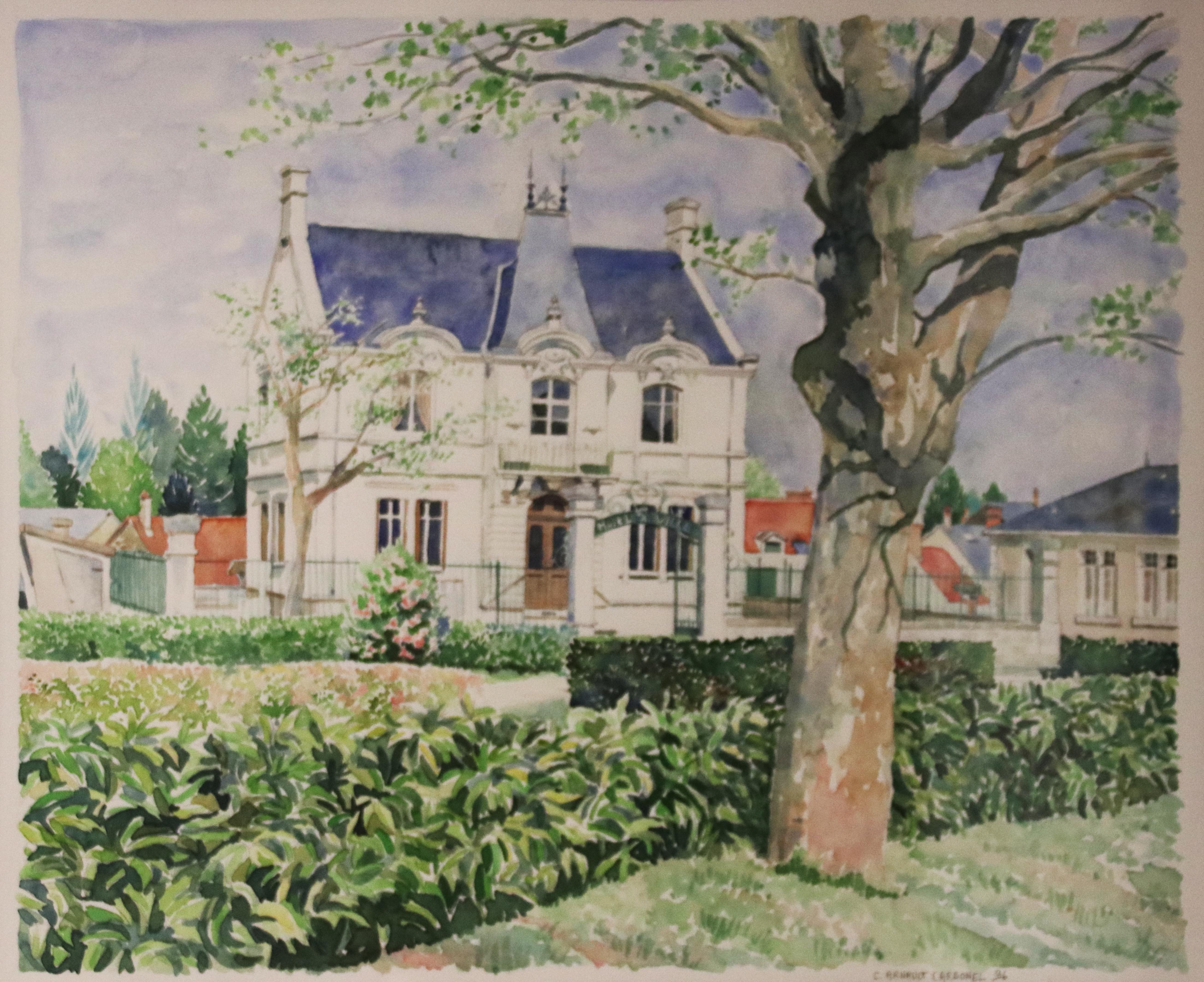 Mairie de Reuilly par Catherine Arnault Carbonel