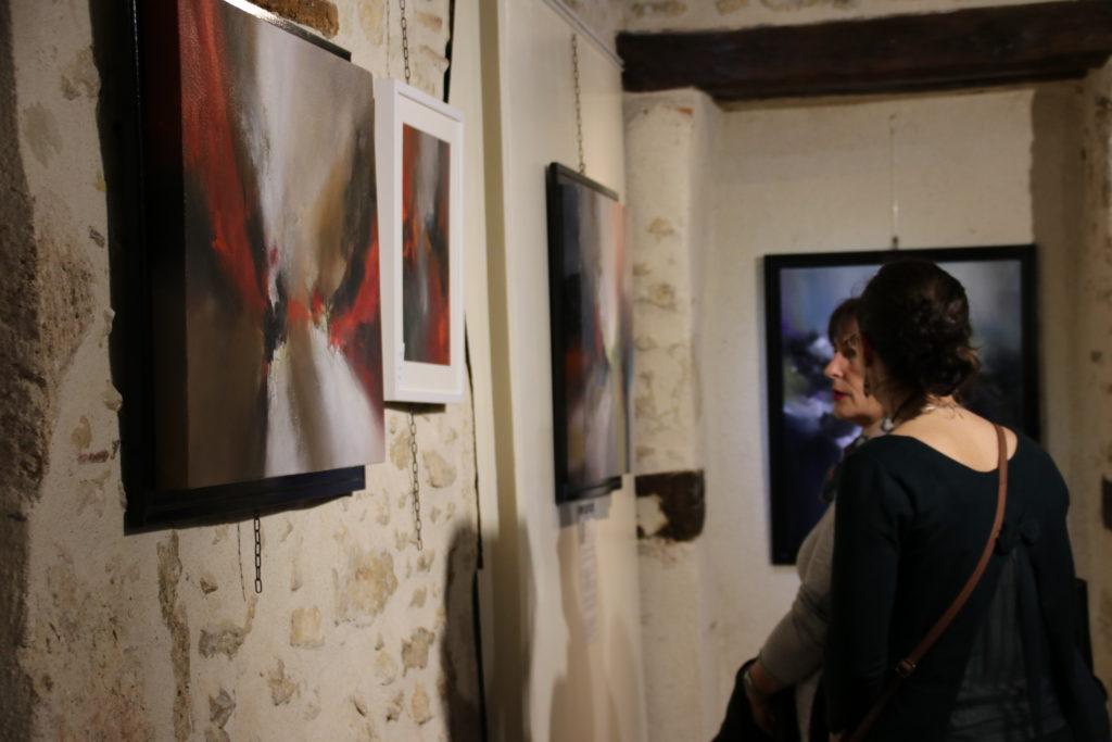 Vernissage de l'exposition d'Isabelle Sarian