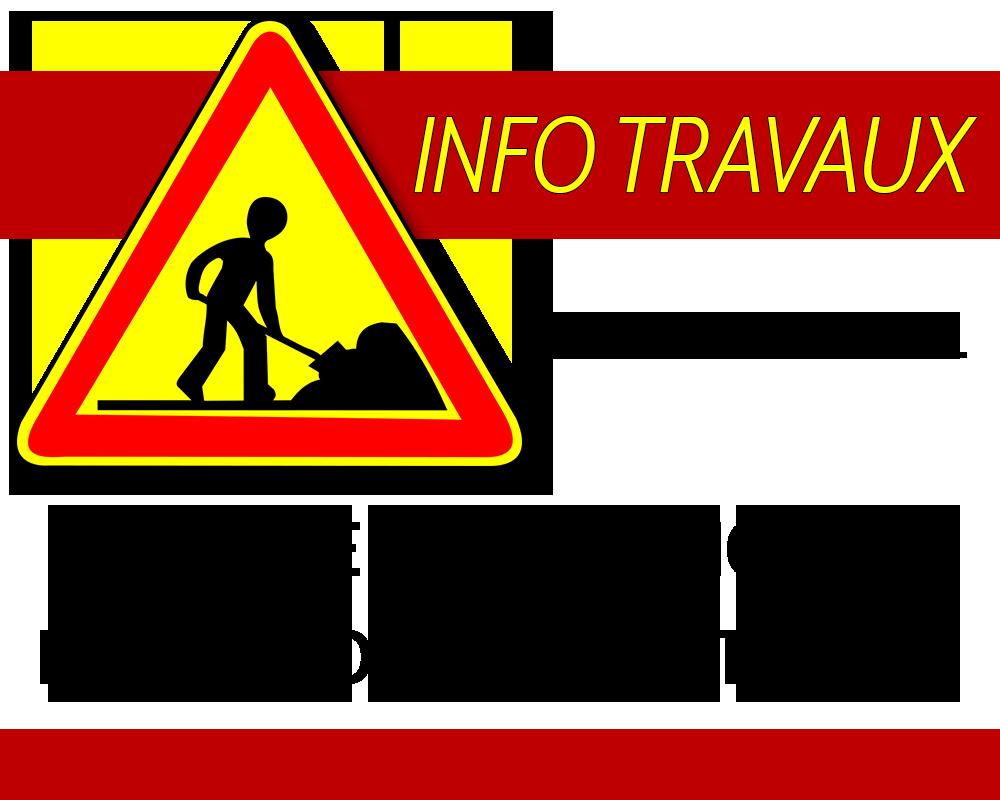 Travaux : Rue de la république et parking médiathèque