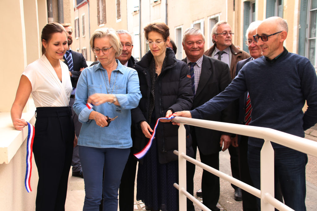inauguration local ostéopathe mathilde mauguy reuilly