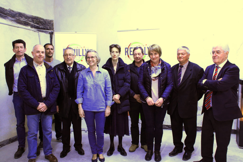 inauguration local syndicat viticole reuilly