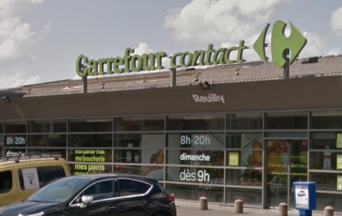 Réouverture du Carrefour Contact de Reuilly
