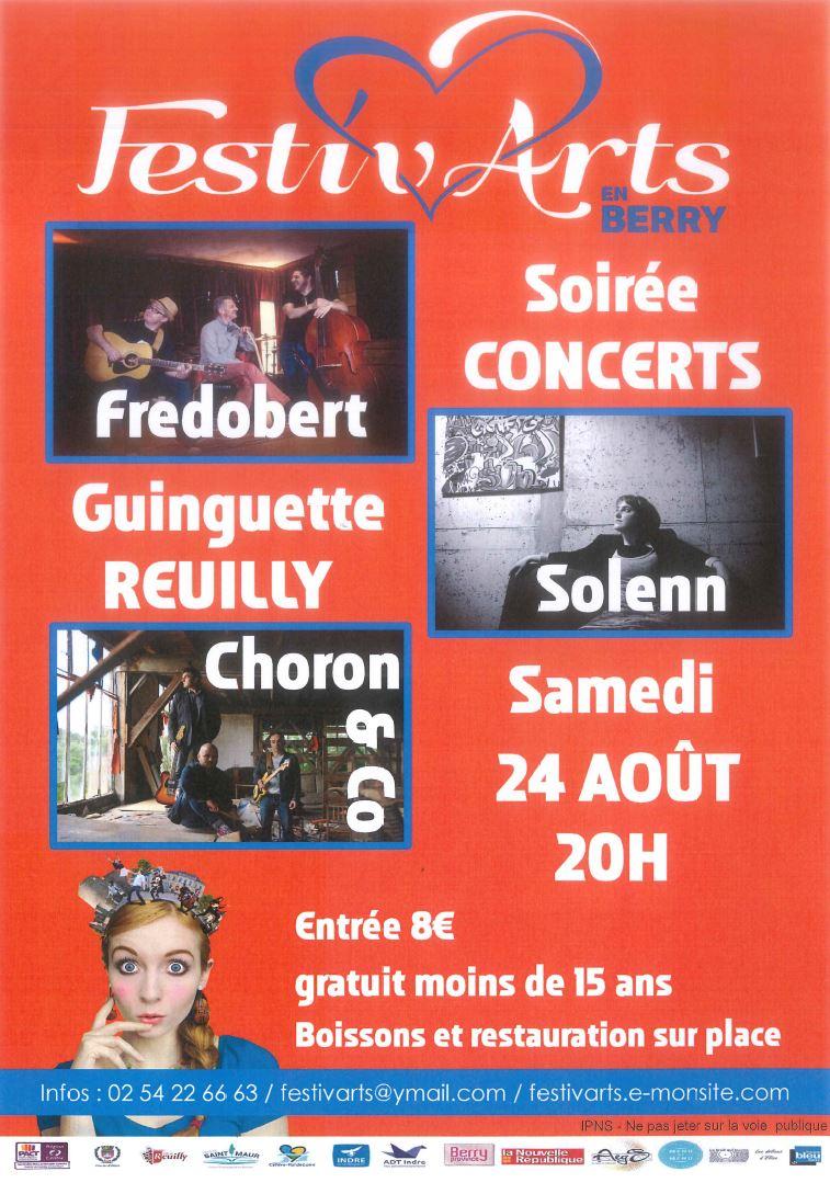 festivarts arts reuilly concert fredobert solenn choron