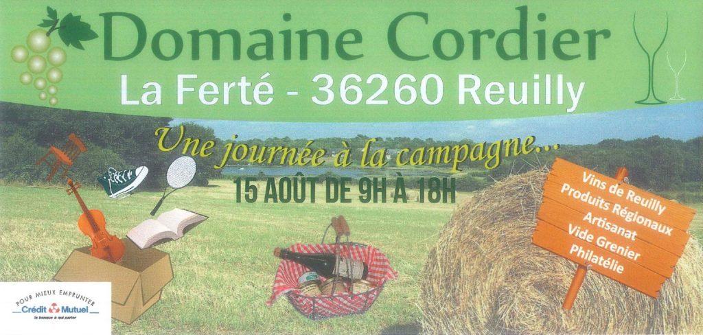 Journée à la campagne au Domaine Cordier