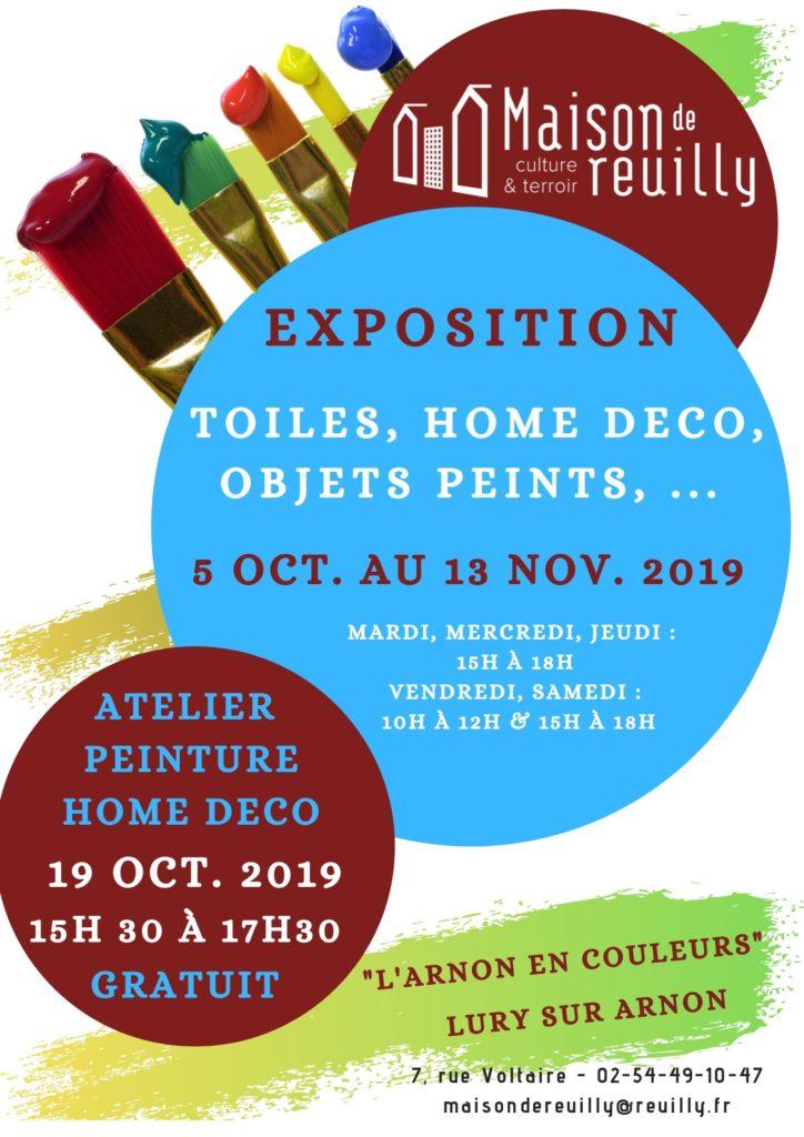 Atelier peinture le 19 octobre à la Maison de Reuilly