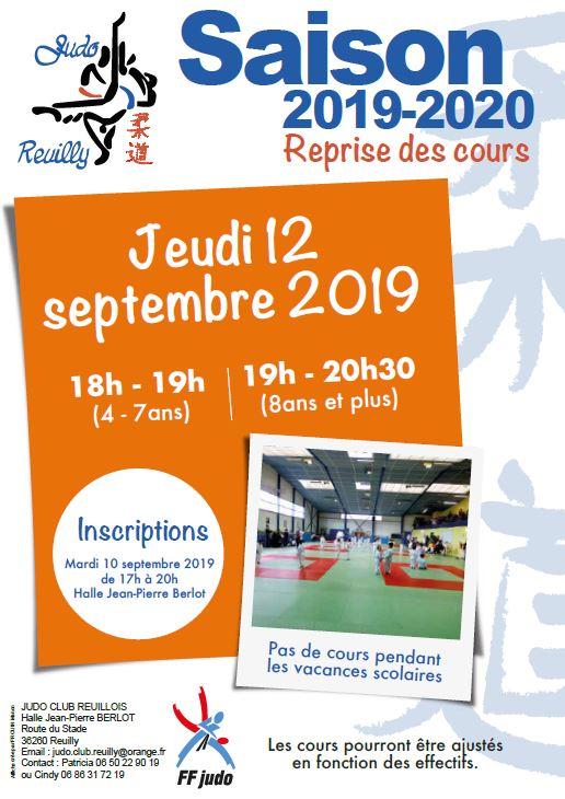 Rentrée du Judo-Club Reuillois 2019-2020