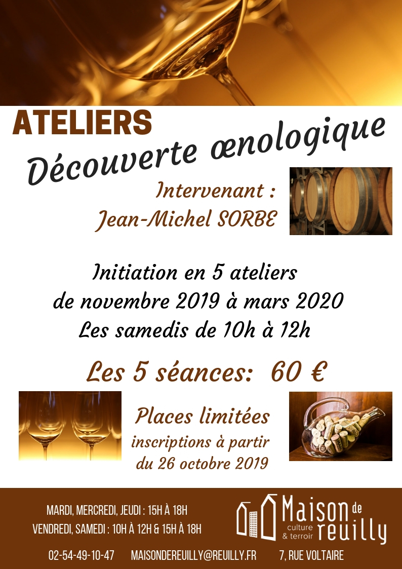 ateliers oenologiques reuilly pinot sauvignon