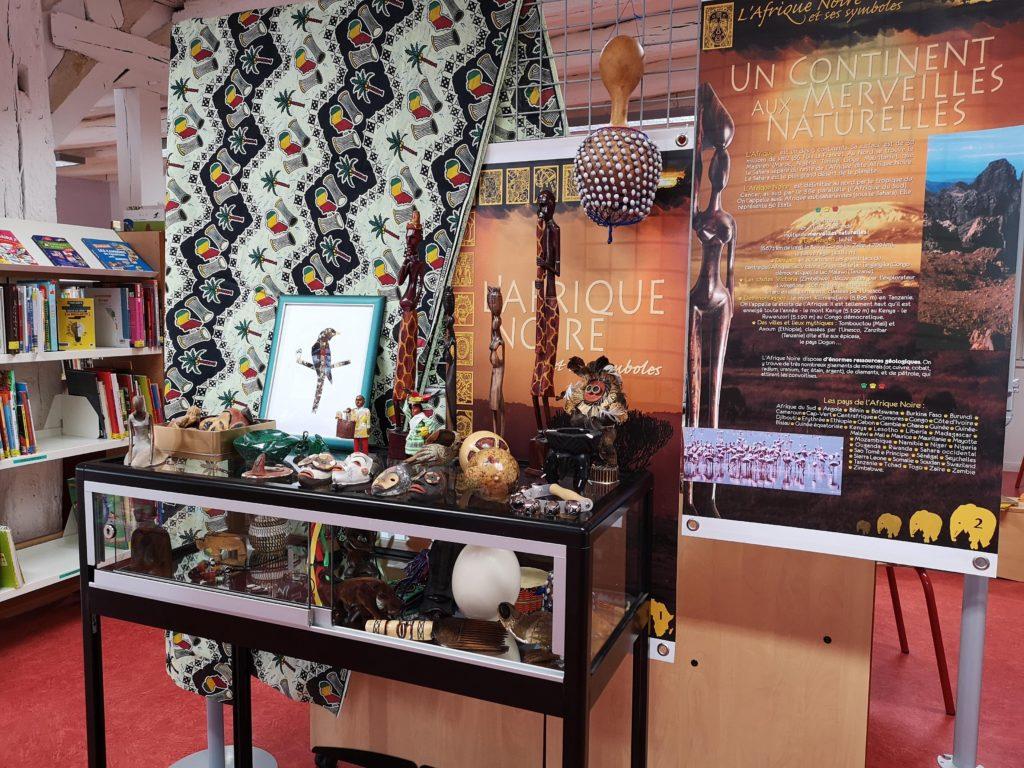 exposition médiathèque afrique noire reuilly
