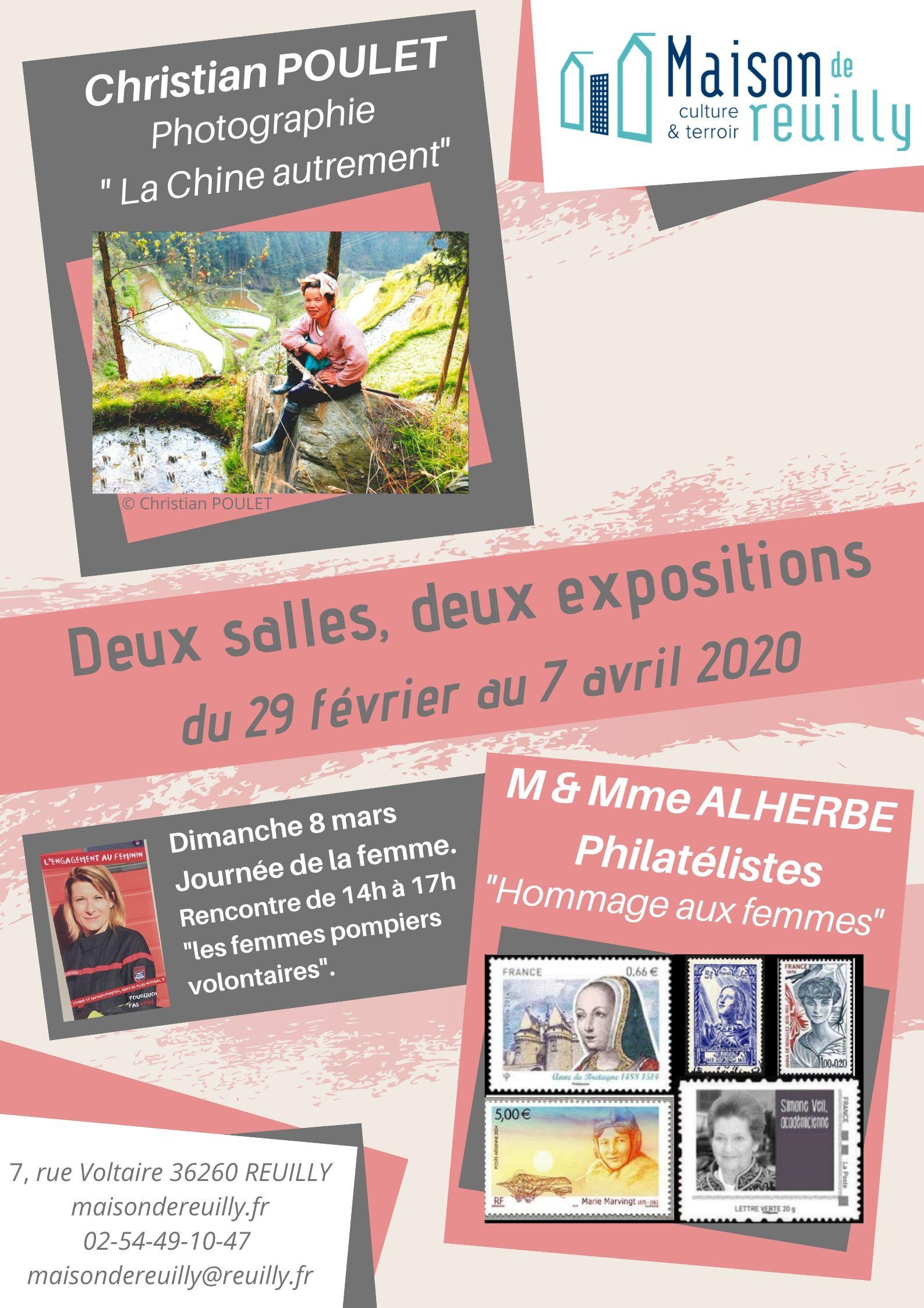 affiche 2020 Poulet Alherbe maison de reuilly