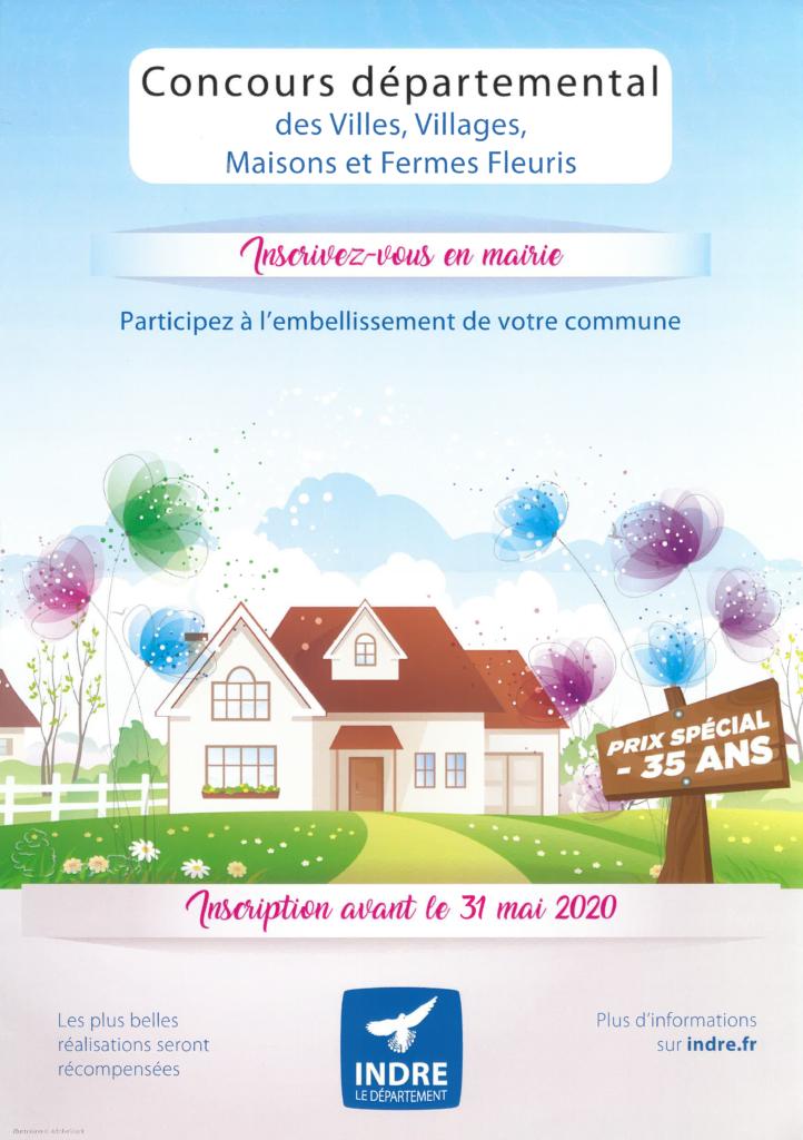 Concours départemental des maisons et fermes fleuries 2020