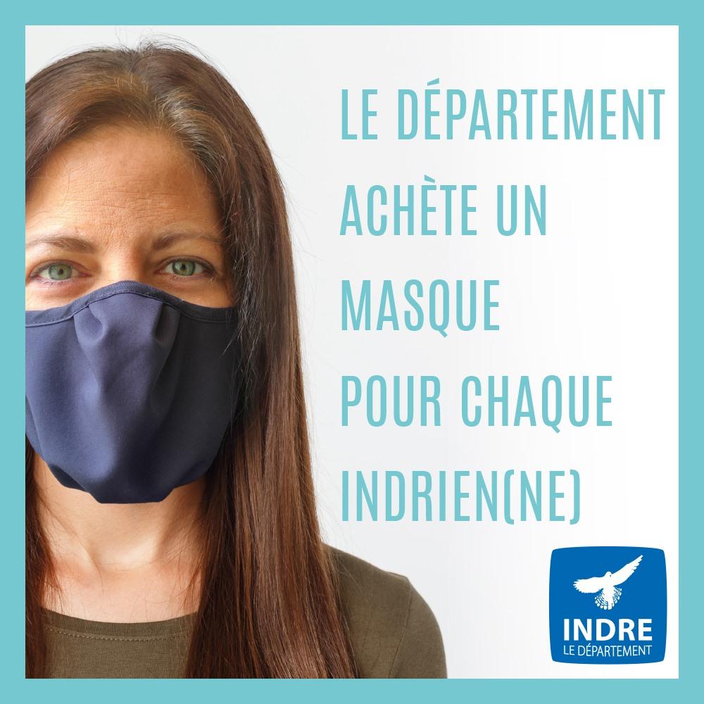 Retrait des masques du département en mairie