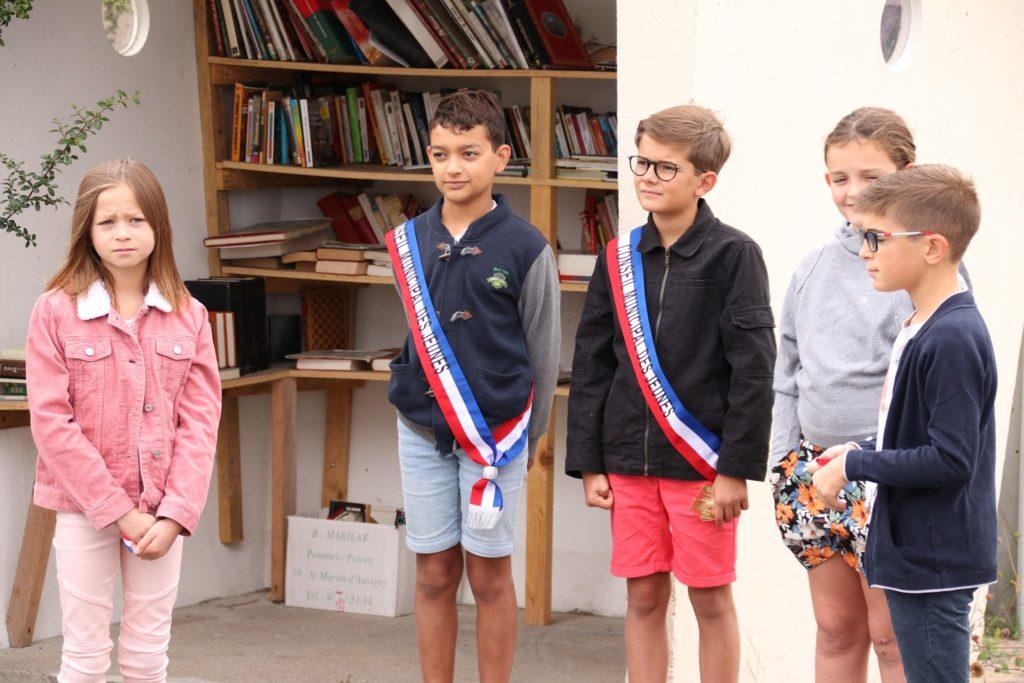 Inauguration de la Boite à livres de Bois-Saint-Denis