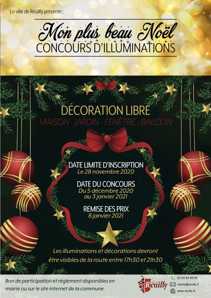 Concours de décorations et d'illuminations : Mon plus beau Noël
