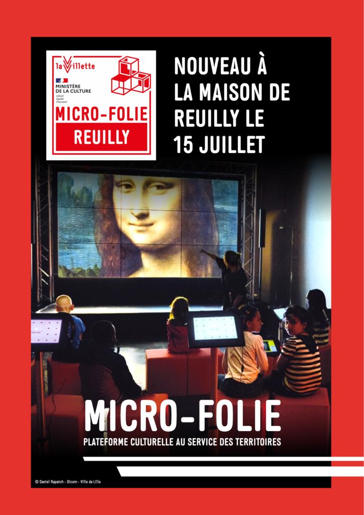 Ouverture au public de la Micro-Folie